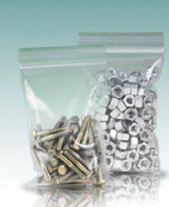 Пакеты с застежкой zip-lock (гриппер)Повышенной прочности 6x8см 60мкм (упак/100шт)